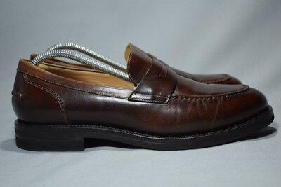 Brunello Cucinelli Vibram туфли лоферы мужские кожаные. Италия. Оригинал. 42-43 р./28 см.