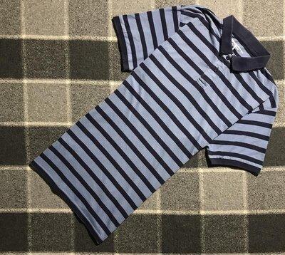 Мужская полосатая футболка поло Cedarwood State Сидарвуд Стейт лрр идеал оригинал синее