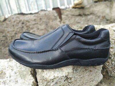 Кожаные туфли Ambre 45 р