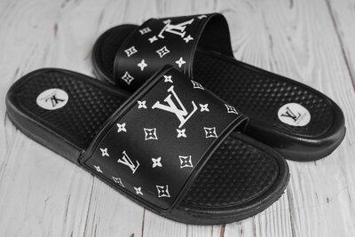 Тапки шлепанцы мужские Louis Vuitton