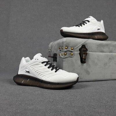 Мужские кроссовки 10420 Reebok Zig Kinetica Белые