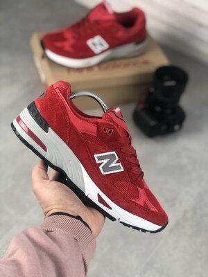 New Balance 991 Red White