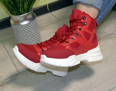 Женские ботинки кроссовки