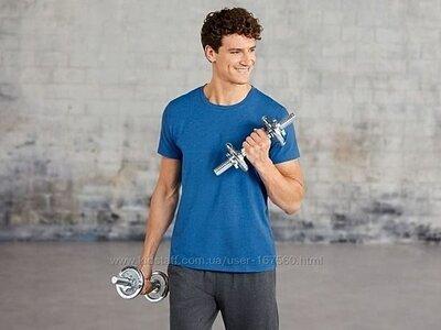 Crivit Германия -M-L-XL мужская стильная функциональная футболка оригинал