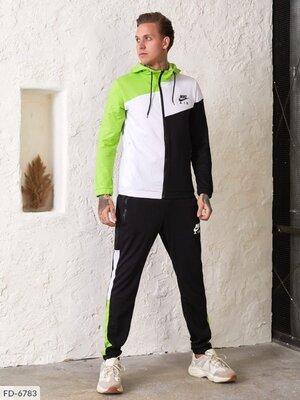 Спортивный мужской костюм FD-6783 в расцветках.