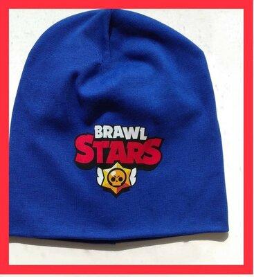 Детская шапка Бравл Старс демисезонная