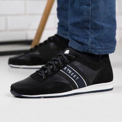 Кросівки чоловічі шкіра / Мужские кроссовки из натуральной Z 46