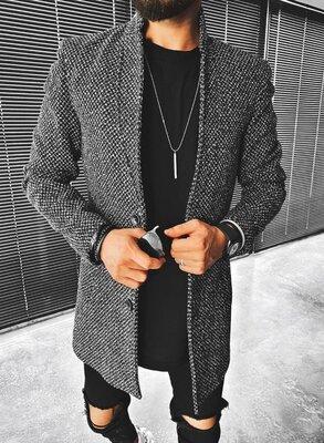 Пальто мужское, тренд сезона