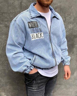 Стильная оверсайз джинсовка