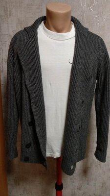Кофта Diesel р.M, теплый свитер кардиган