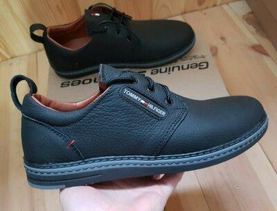 Черные мужские кожаные туфли,классические,