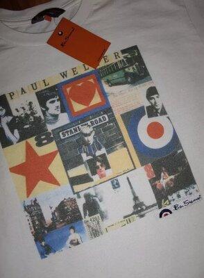 новая футболка Ben Sherman x Paul Weller x The Jam