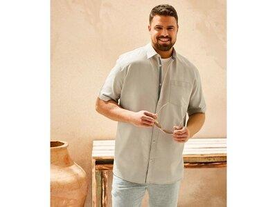 Льняная рубашка, шведка, батал, 4xl, Livergy, Германия