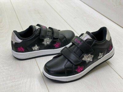 Продано: Распродажа, классные черные со звёздами кеды кроссовки Air на липучках