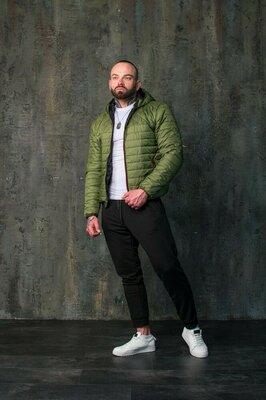 Комплект мужская куртка штаны брюки ветровка спортивный костюм