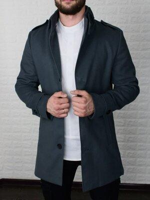 Продано: Мужское утепленное пальто из кашемира Топ Качество