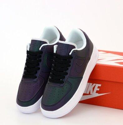Унісекс жіночі чоловічі кросівки Nike Air Force 36-45 Рефлективні