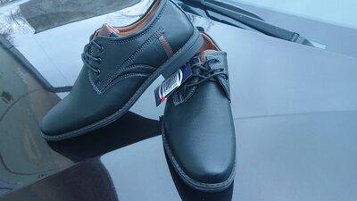 Туфли из экокожи