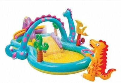 Продано: Детский надувной центр «Планета динозавров» Intex 57135 NP 333 229 112 см