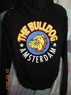 Стильная кофта реглан батник.The Bulldog. xs-s-м