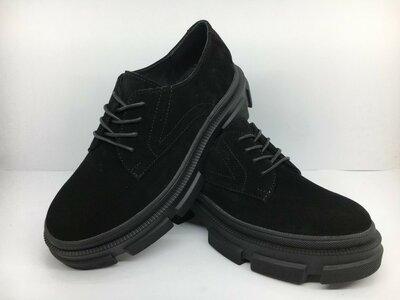 Туфли женские на платформе, лоферы, кроссовки натуральная замша с 37 по 40р. 24,1-26см