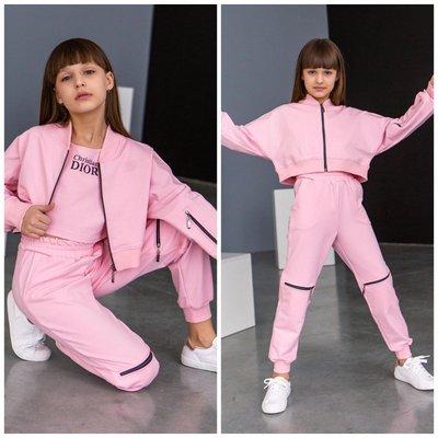 Стильный костюм с топом для девочки