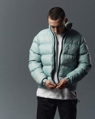 Короткая весенняя куртка-пуховик Holla мята