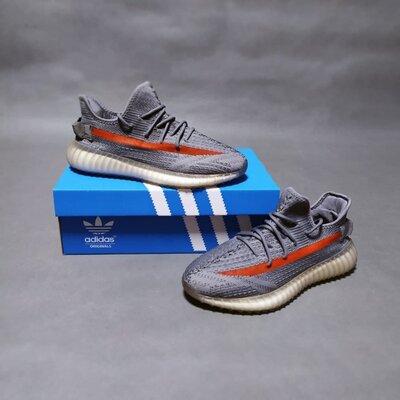 268 Мужские кроссовки Adidas Yeezy Boost 350 V2 серые