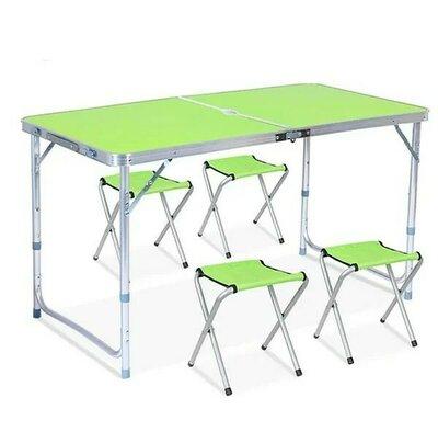 Продано: Раскладной стол и стулья