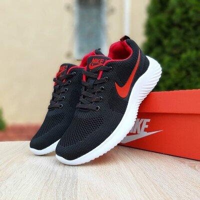 Кроссовки Nike Air max, черные, 10128