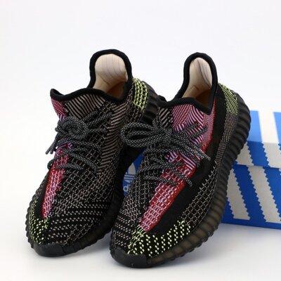 Унісекс жіночі чоловічі кросівки Adidas Yeezy Boost 350 36-45 Рефлектив