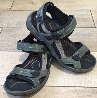 Мужские сандалии кожаные босоножки Ессо Offroad. Размер 42, 27.5 см
