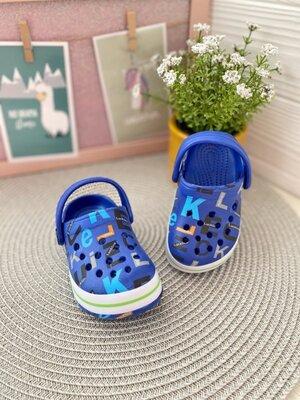 Кроксы для мальчика. Детские шлепки. Резиновые шлепанцы. Детские кроксы. Крокси дитячi