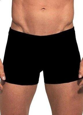 Мужские трусы шорты из вискозы черного цвета cornette 910 infinity