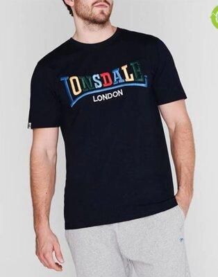 Фирменная стильная футболка Lonsdale оригинал р.M-L