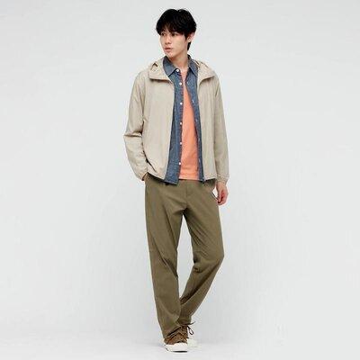 Мужские еластичные брюки smart comfort uniqlo