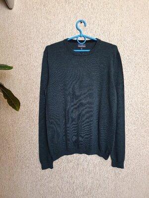 Стильный джемпер, свитер Next premium, 100% мериносовая шерсть