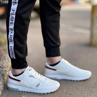 Кроссовки Экокожа обувной текстиль