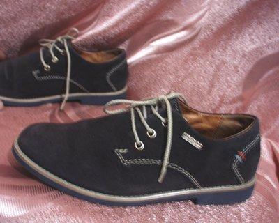 Туфли муж стелька 240 мм р.37 Pachini кожа замша ботинки