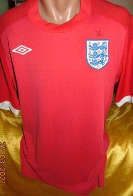 Спортивная оригинал футбольная футболка Umbro Амбро зб Англии .л