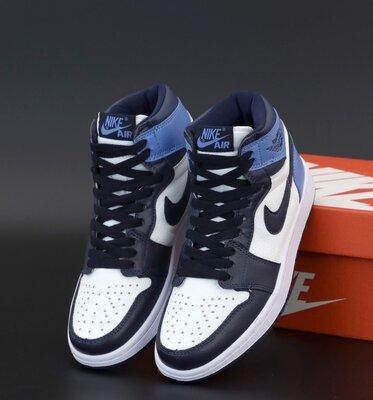 Унісекс жіночі чоловічі кросівки Nike Air Jordan 1 Retro 36-45