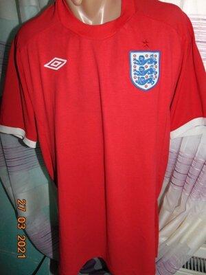 Спортивная футбольная футболка Umbro зб Англии .л