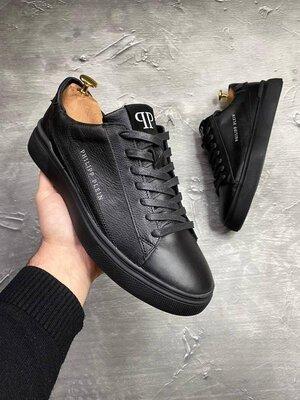 Кроссовки кеды мужские кожаные Philipp Plein Sneaker