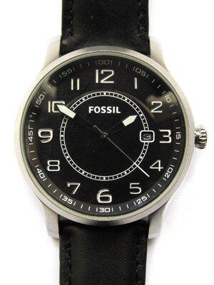 Fossil FS-4511 мужские часы из Сша кожа дата WR50M оригинал