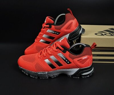 чоловічі кросівки Adidas Marathon TR 26 красні 41-46р