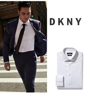 Белая рубашка DKNY р.L