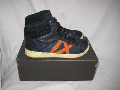 Ботинки кроссовки хайтопы сникерсы Graceland 42 размер по стельке 27,5 см. Германия.кожаные.легеньки