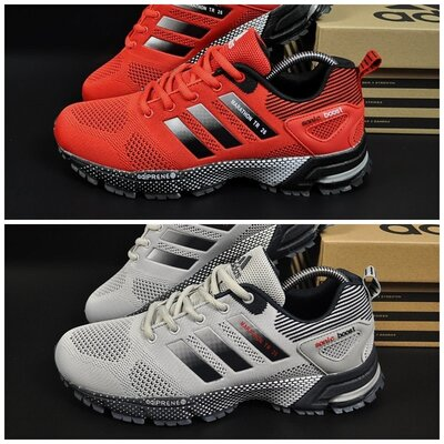 Кроссовки Adidas Marathon TR26 р. 41-46 красные и серые