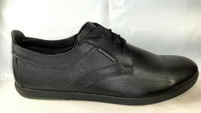Кожаные туфли BERTONI, стиль комфорт.44,45.