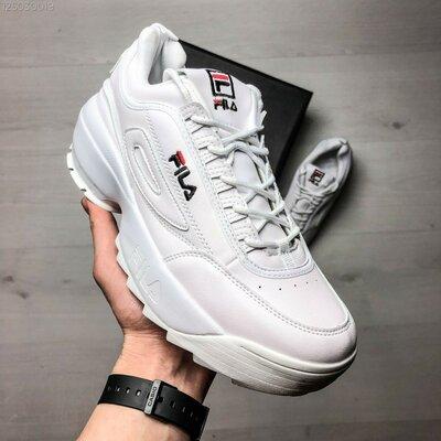 Мужские кроссовки Fila Disruptor белые